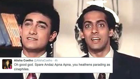 Andaz Apna Apna remake is happening and fans are not happy