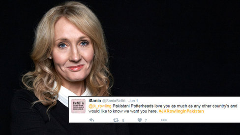 Potterheads unite on Twitter to bring J.K. Rowling to Pakistan