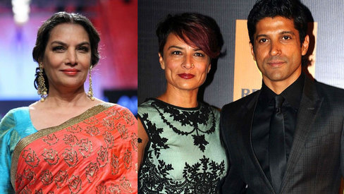 Our family reacted with a lot of pain: Shabana Azmi opens up about Farhan-Adhuna split