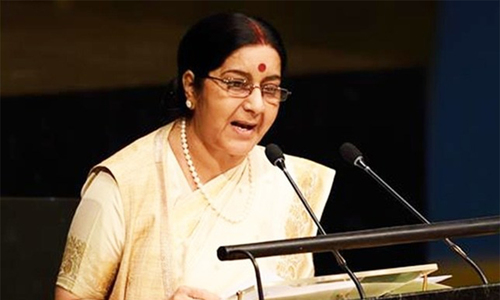 India not opposed to Pakistan's membership of Nuclear Suppliers Group: Swaraj