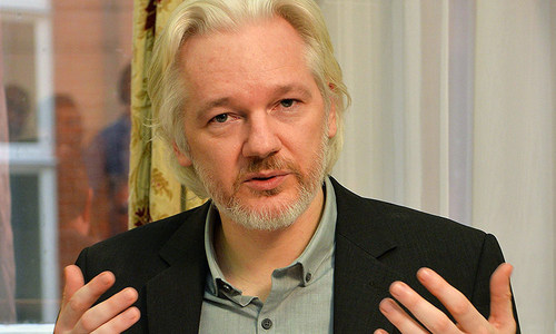 Assange starts fifth year cooped up in Ecuadorean embassy
