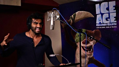 Wait what? Arjun Kapoor is making his voice-over debut with Ice Age