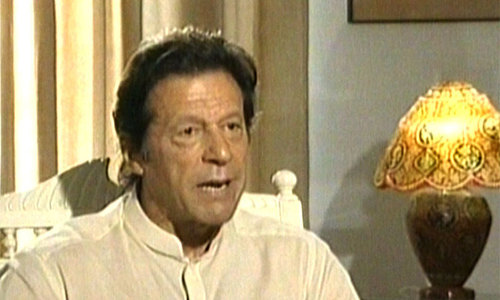 Imran defends KP govt's Rs300m grant for Darul Uloom Haqqania