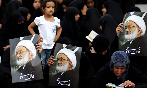 Manama's action against Shia leader stirs protest