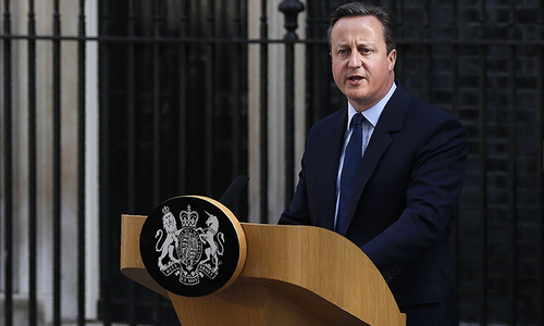 David Cameron resigns as Britain votes to leave EU