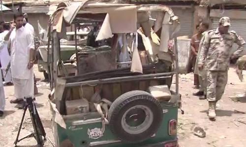 Five killed in Quetta market explosion