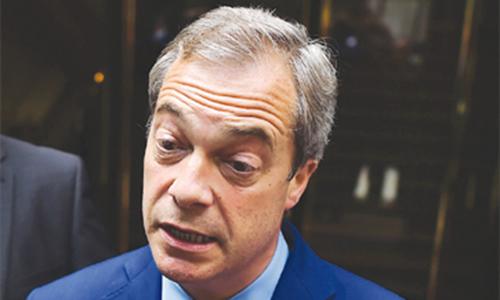 Anti-EU figurehead Farage vindicated by Leave vote