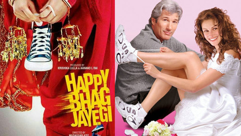 Is Happy Bhag Jayegi an imitation of Runaway Bride?