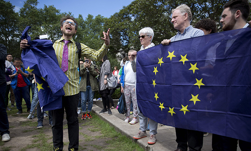 Over one million sign UK petition for second EU vote