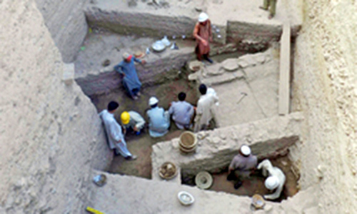 Archaeologists discover layers of Indo-Greek city in Swat