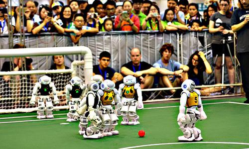Rise of the machines: Pakistani roboteers hunt global football glory