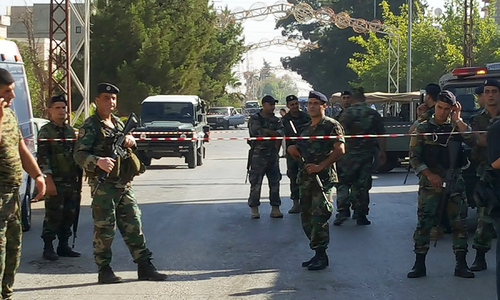 Multiple suicide bombings kill five in eastern Lebanon