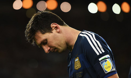 Clues to weary Messi's shocking retirement from international football