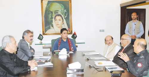 Bilawal asks Sindh govt to take  all-out rain emergency steps
