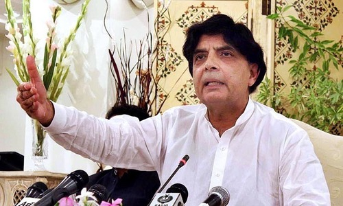 Army to have key role in Karachi police recruitment: Nisar