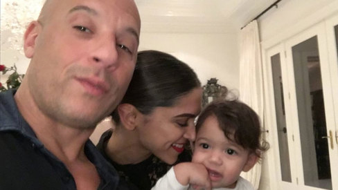 Fast friends: Deepika bonds with Vin Diesel's adorable 1-year-old