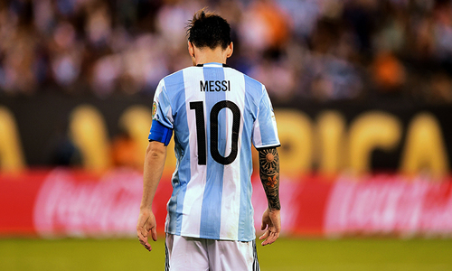 The day I saw Messi play