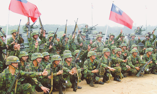 Taiwan military stalked by suicide