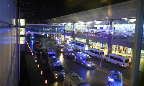 At least 28 killed in triple suicide attack at Istanbul international airport