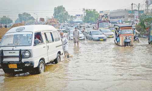 Three people die, power supply goes haywire as city receives more showers