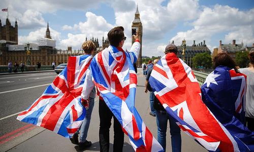 The realignment in British politics