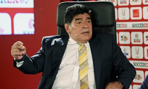 Messi's Argentina no 1986 heroes, says Maradona