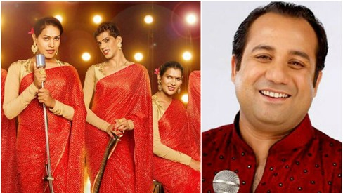 Rahat Fateh Ali Khan just sang with an Indian transgender band