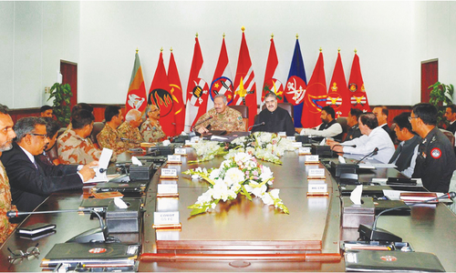 Measures  to stem  tide of terror  in Balochistan  discussed