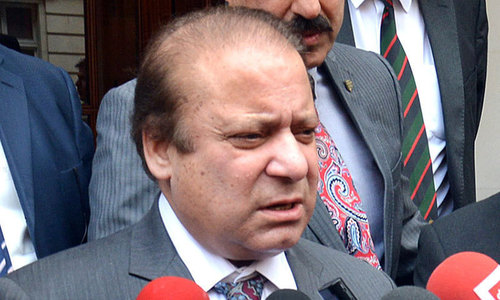 PAT also files disqualification reference against Sharif