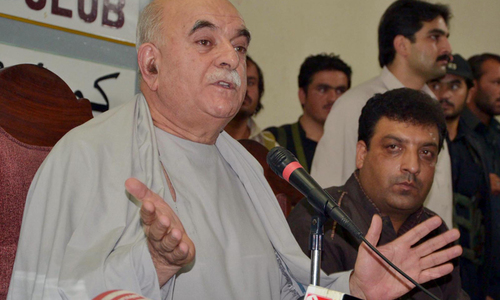 'KP belongs to Afghans' statement taken out of context: Achakzai