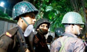 بنگلہ دیش:سفارتی علاقے میں مسلح افراد کا حملہ