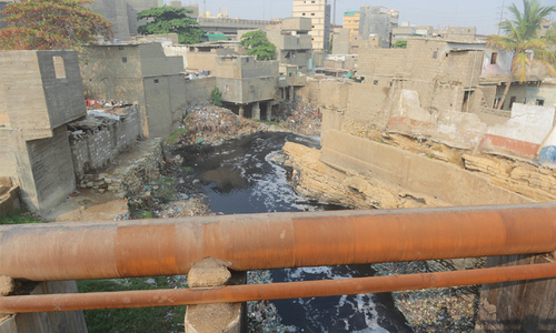 Almost all Karachi storm drains clogged, encroached