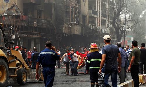 IS-claimed Baghdad blast kills at least 119