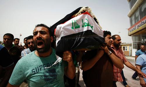 Iraq mourns as Baghdad bleeds