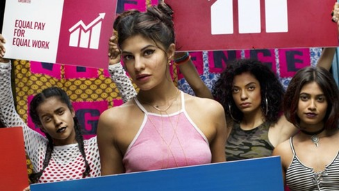 Jacqueline Fernandez is guaranteed to make you smile in this Spice Girls' 'Wannabe' remake