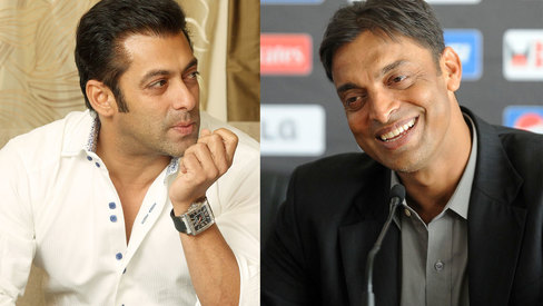 Would like Salman Khan to play my role in biopic, says Shoaib Akhtar