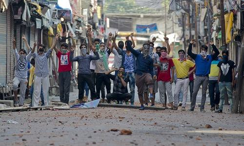 Kashmir unrest: India asks Pakistan to stop interfering in 'internal affairs'