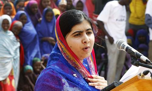 Malala visits world's largest refugee camp