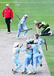 Misbah's comeback was dramatic: After scoring heavily in the 2007 T20 World Cup in South Africa, he almost pulled off a sensational win against India in the final. He was distraught when he failed to cross the very last hurdle beyond which lay victory.