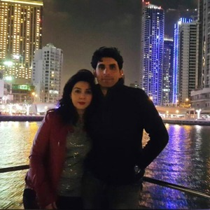 A strong bond: Misbah with Uzma.