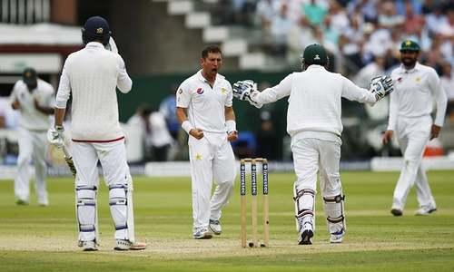 Yasir runs through England as Amir strikes at last