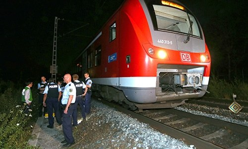 Islamist suspicion hardens in German train axe attack
