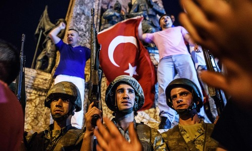Anxious wait for families of Turkey soldiers detained over coup