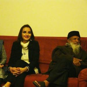 With Abdul Sattar Edhi in Paris.