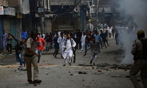 Protests in held Kashmir led by UN-designated terrorists, alleges India
