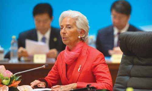 Unflappable IMF chief who smashed glass ceiling