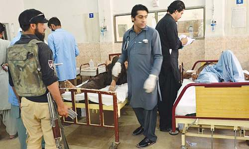 Six injured in Quetta blast