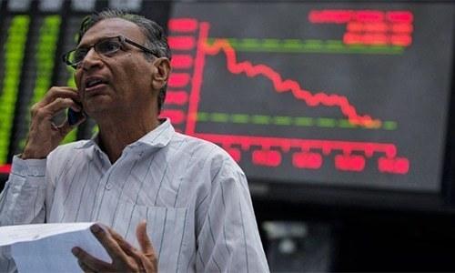 KSE-100 index sheds 155 points