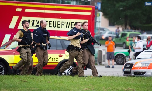 German-Iranian gunman kills nine in Munich shopping mall