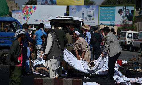 80 dead, 231 wounded as twin blasts strike Hazara demonstration in Kabul